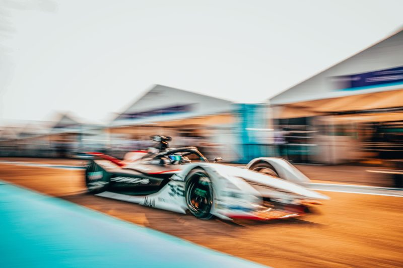André Lotterer Has An Inspired Drive In The Rain To Score More Porsche Points In Formula E Round 9