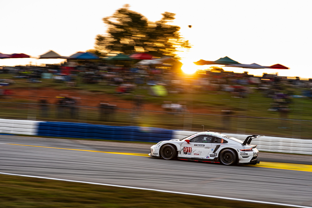Porsche Finally Finds Victory Lane In IMSA's Petit Le Mans Endurance Event