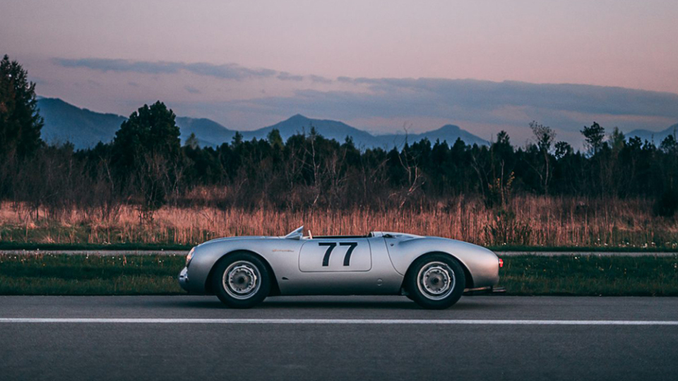A 550 Spyder With an Illustrious Past Goes Up For Sale