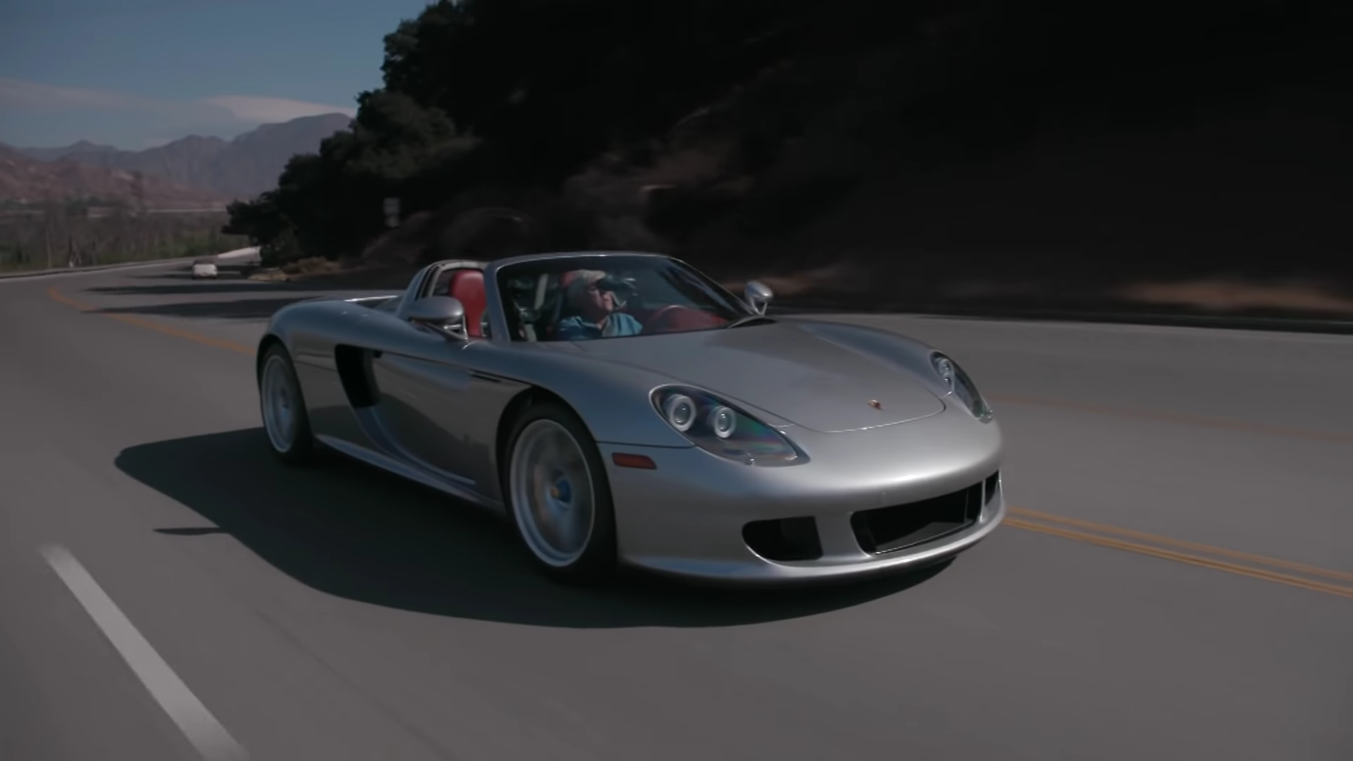 Jay Leno Takes Us on an Emotional Tour of His Carrera GT