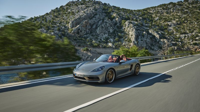 photo of The Porsche Boxster 25 Years Edition Is A Stunning Throwback To The Mid-1990s Concept image