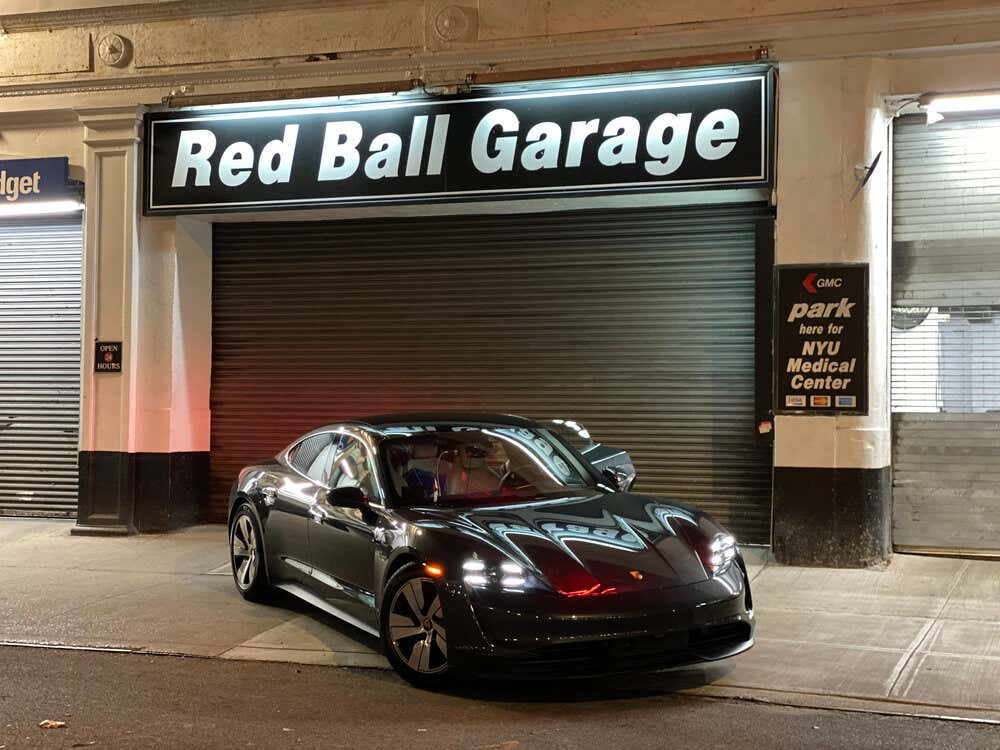 photo of A Porsche Taycan Took The EV Cannonball Record Across The Country In Just 44 hours and 26 minutes image